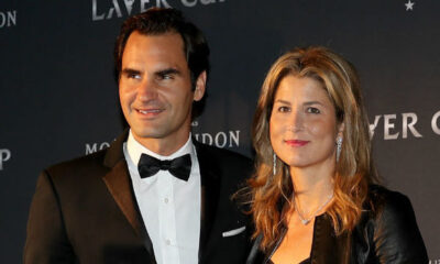 Roger and Minka federer