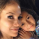 Jennifer Lopez and Daughter