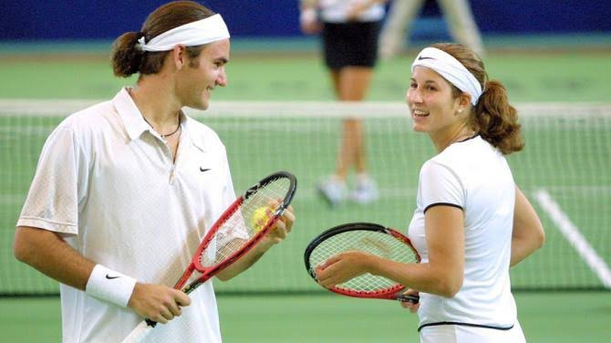 Roger and Mirka 2000 olympics