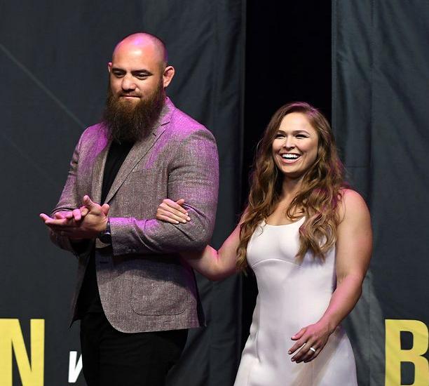Ronda Rousey and Husband
