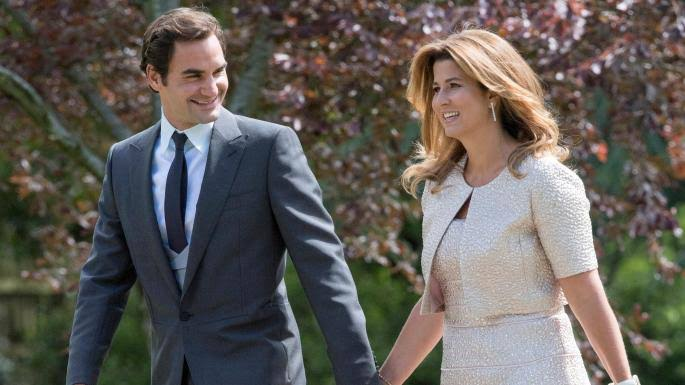 mirka and roger federer