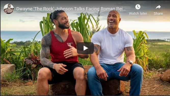 The Rock-Roman Reigns